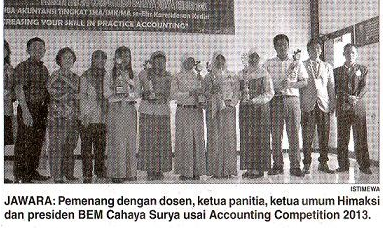 SMA Negeri 1 Pare Juara 1 The 3rd Accounting Competition 2013